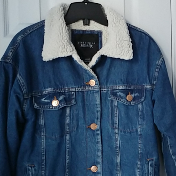 DENIM JACKET STREETWEAR SOCIETY